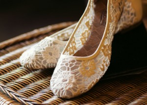 The Walk That Changed Her Life - Bridal Shoes