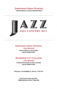 Concert Program Cover BOSS